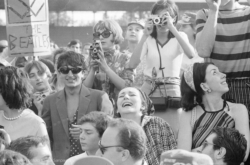 Concerto dei Beatles, Milano, 1965 © Archivio Publifoto di Intesa Sanpaolo