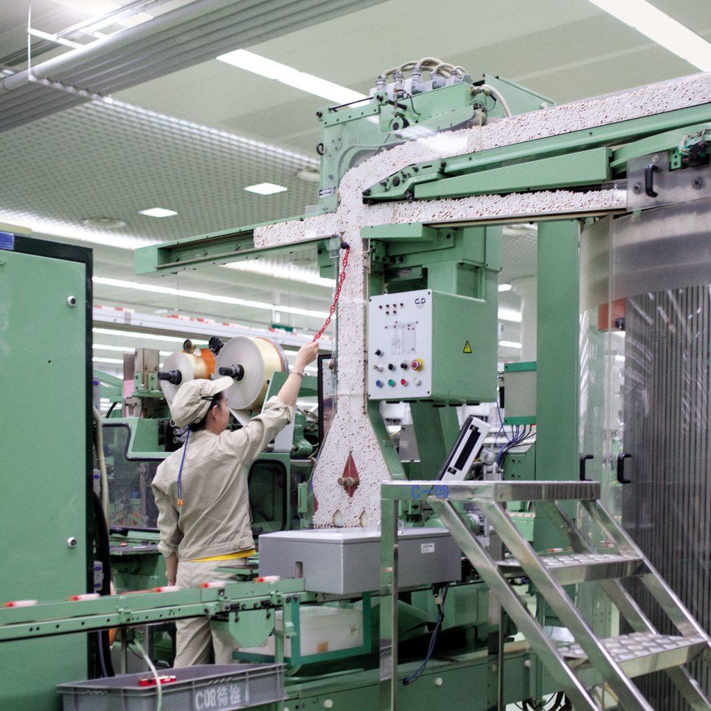 Rocco Rorandelli, Yuxi, Cina. All'interno della fabbrica del Gruppo Hongta